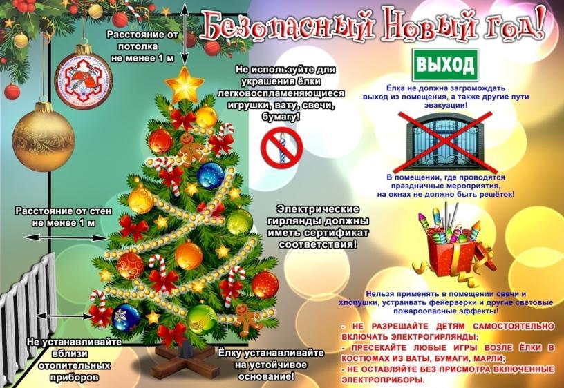 Безопасный новый год