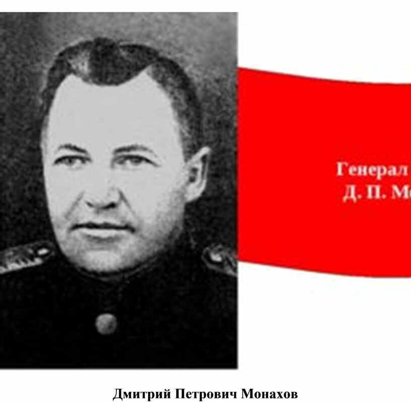 Дмитрий Петрович Монахов