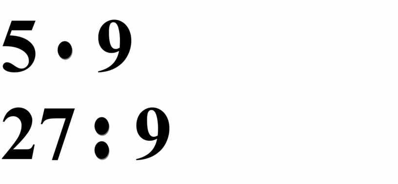 5 9 27 9