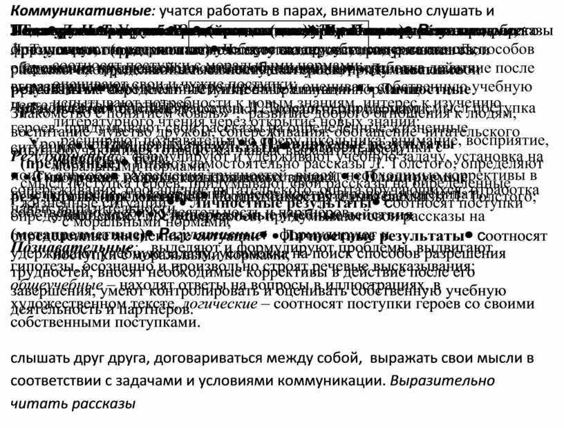 Тема Л. Н. Толстой . Рассказы для детей