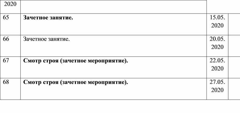 Зачетное занятие. 15.05