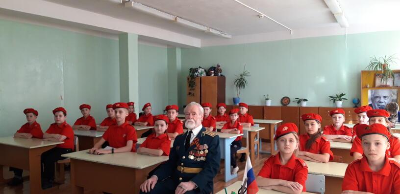 Юнармия Урок мужества 3-6 класс