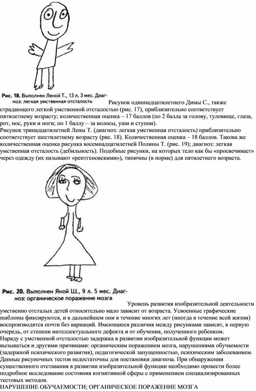 Рисунок одиннадцатилетнего Димы