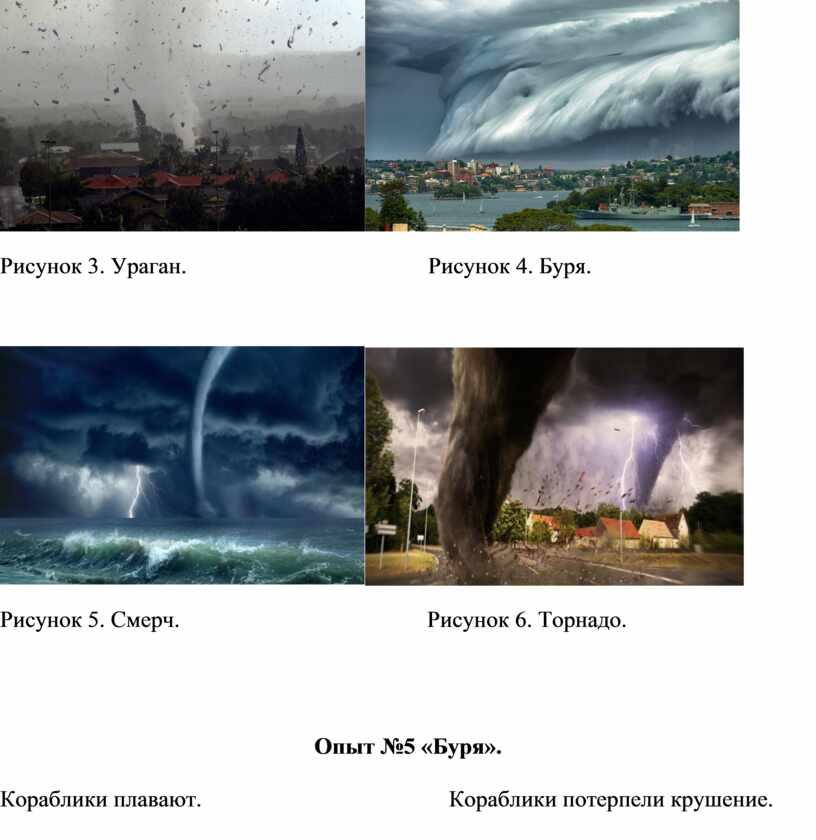 Рисунок 3. Ураган.