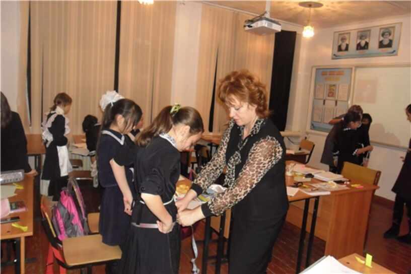 «Разновидности юбок.  Снятие мерок для построения чертежа юбки» 6 класс
