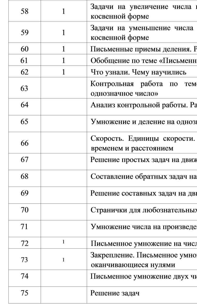 Задачи на увеличение числа в несколько раз, выраженные в косвенной форме 59 1