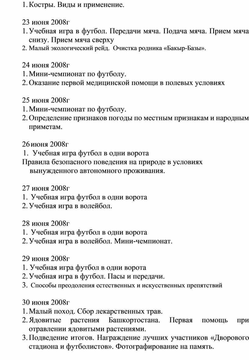 Костры. Виды и применение. 23 июня 2008г 1