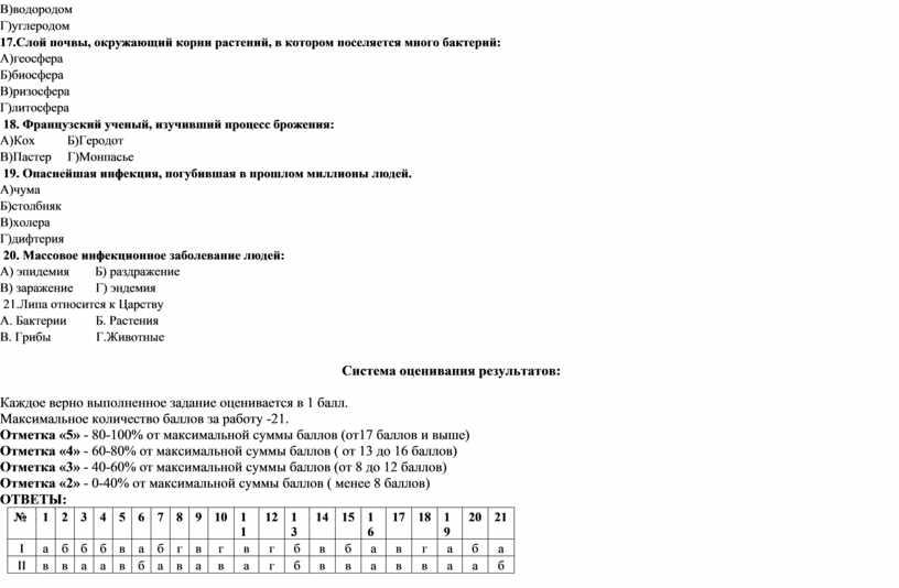В)водородом Г)углеродом 17