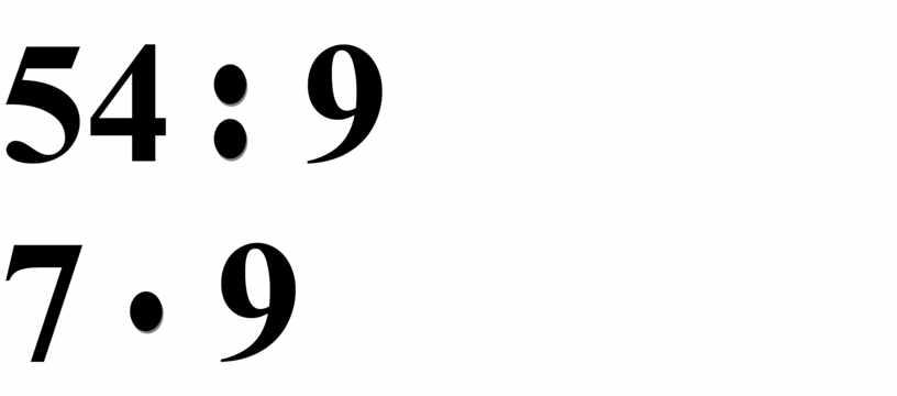 54 9 7 9