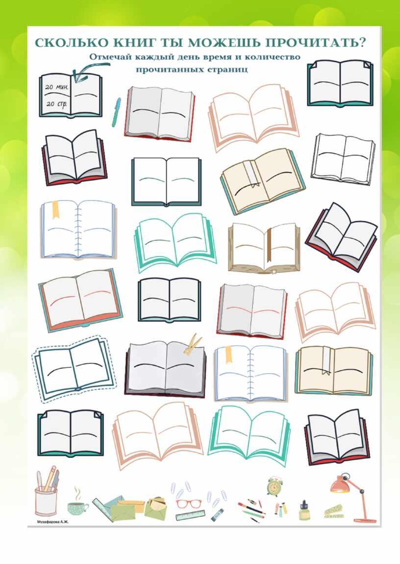 Применение рабочих листов на уроках литературного чтения