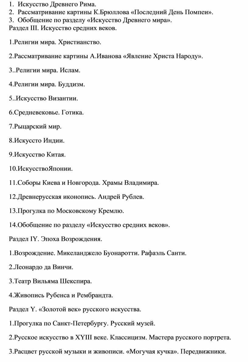 Искусство Древнего Рима. 2.