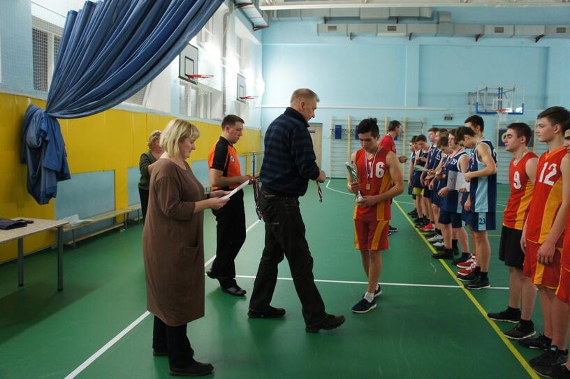 """Турнир по баскетболу, посвященный дню учителя, """"А ну-ка парни!"""" (10 класс, физическая культура)"""