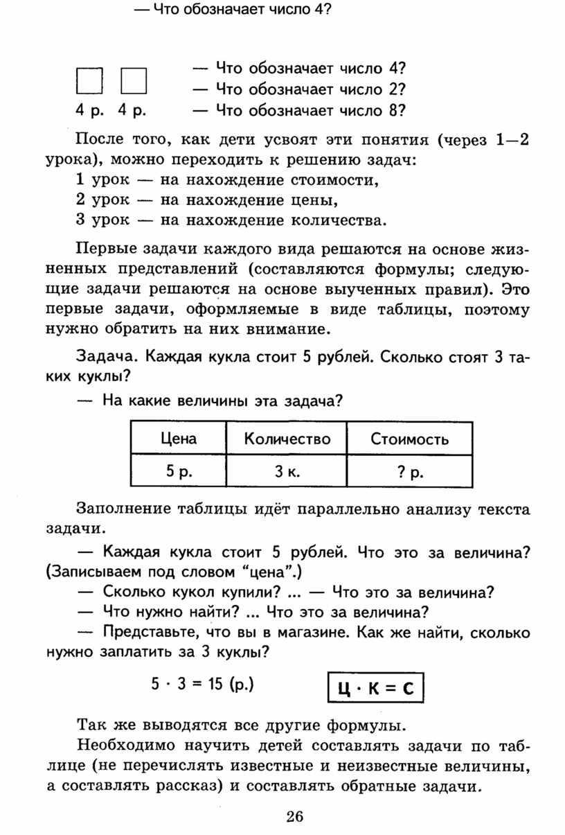 Что обозначает число 4? — Что обозначает число 2? 4 р