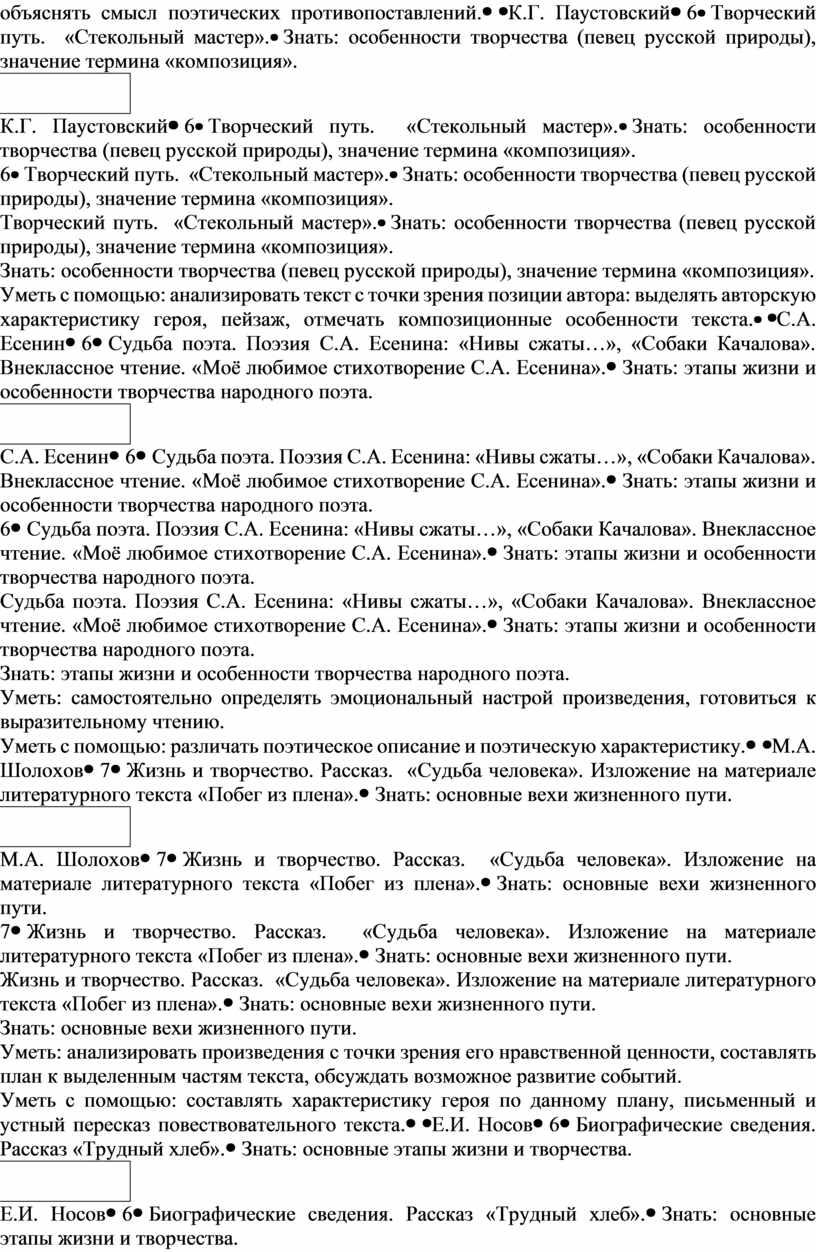 К.Г. Паустовский6 Творческий путь