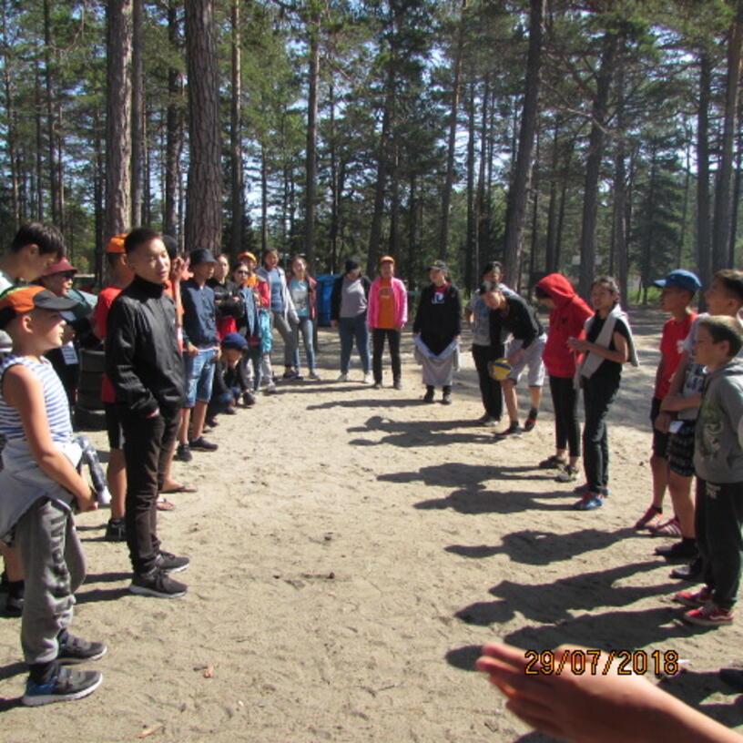Организованы и проведены обучающие семинары по профориентации молодежи для участников волонтерского движения на базе оздоровительного лагеря «Хэжэнгэ» и палаточного лагеря «Вместе» на озеро Байкал