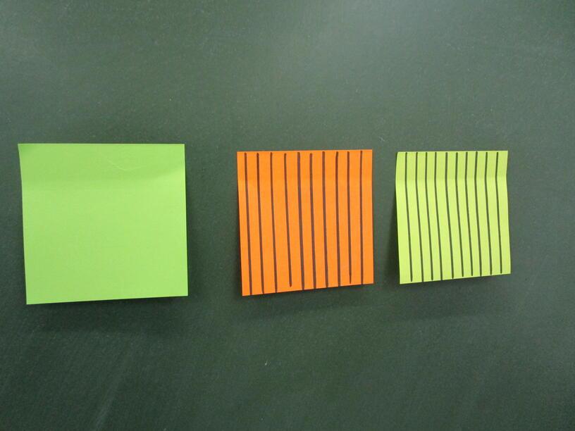 """Презентация по технологии на тему """"Изготовление цветка из блоков для записи"""". ( 1-2 класс)"""