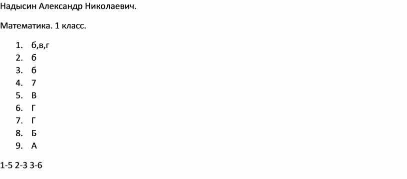 Надысин Александр Николаевич.