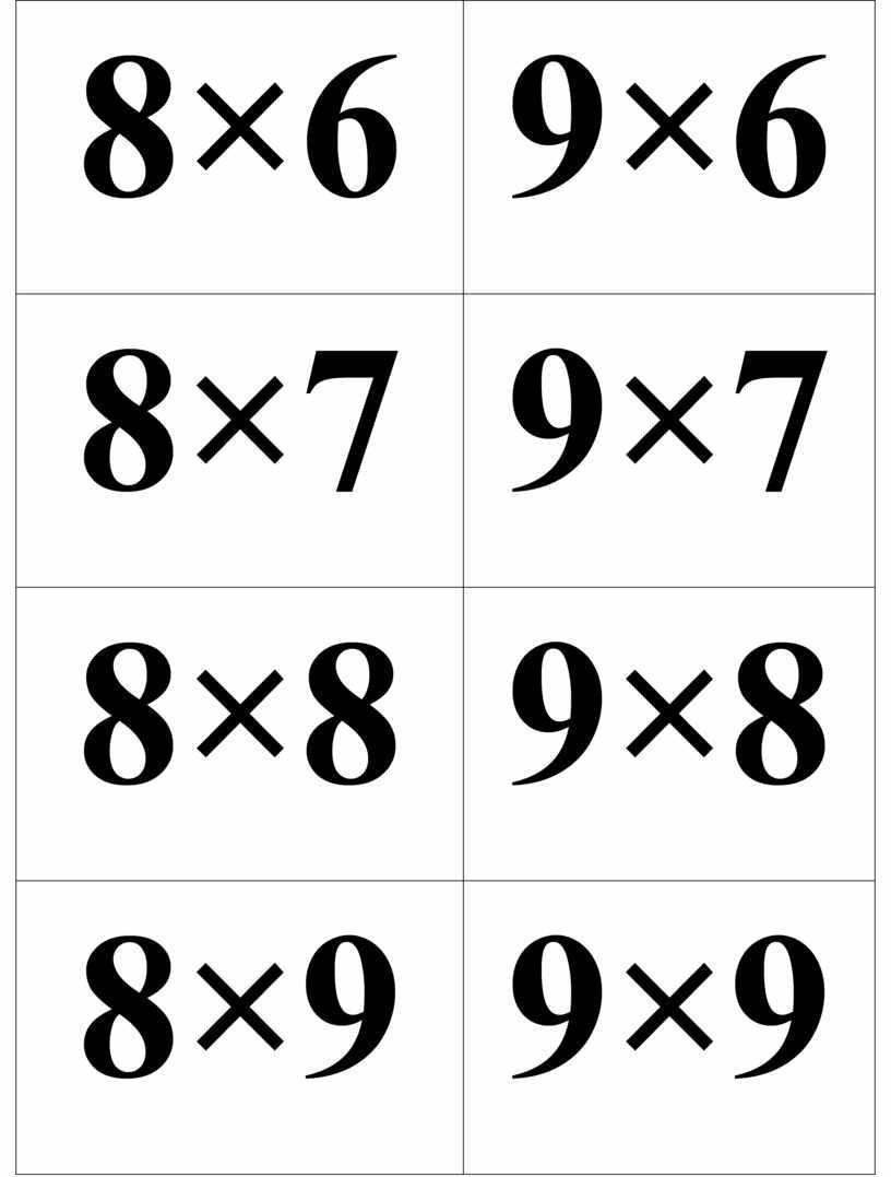 8×6 9×6 8×7 9×7 8×8 9×8 8×9 9×9 8×10 9×10