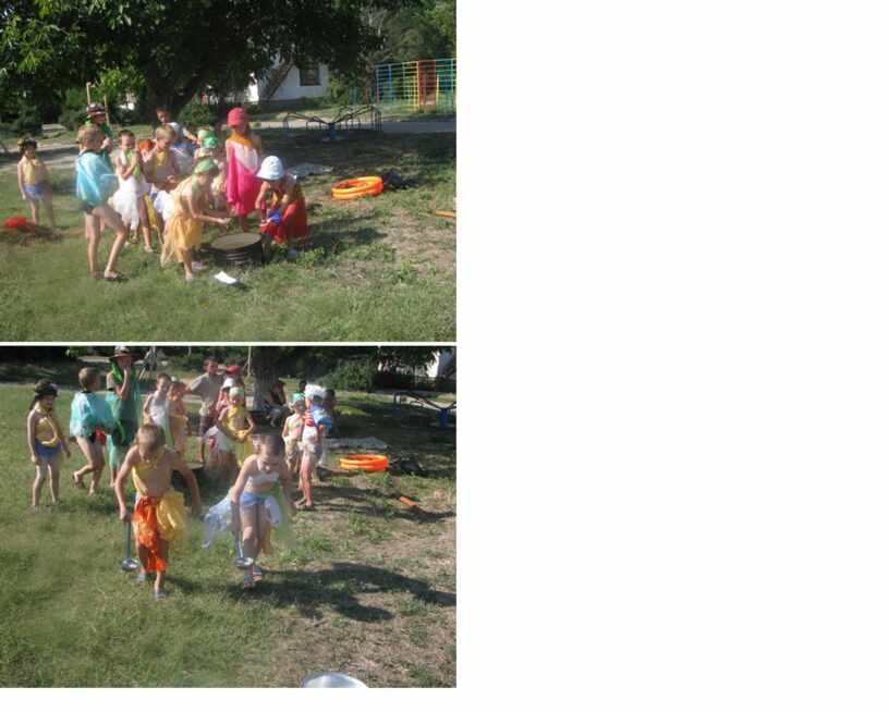 Фото  с праздника ИВАНА КУПАЛЫ  ( праздник во дворе)