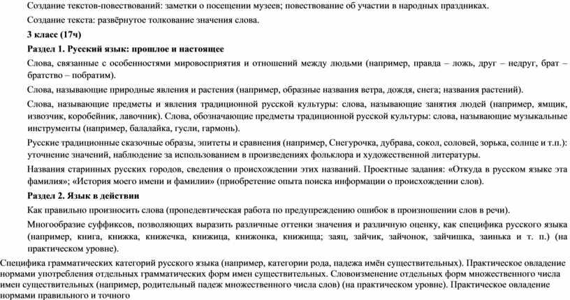 Создание текстов-повествований: заметки о посещении музеев; повествование об участии в народных праздниках