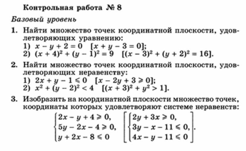Рабочая программа по алгебре 11 класс