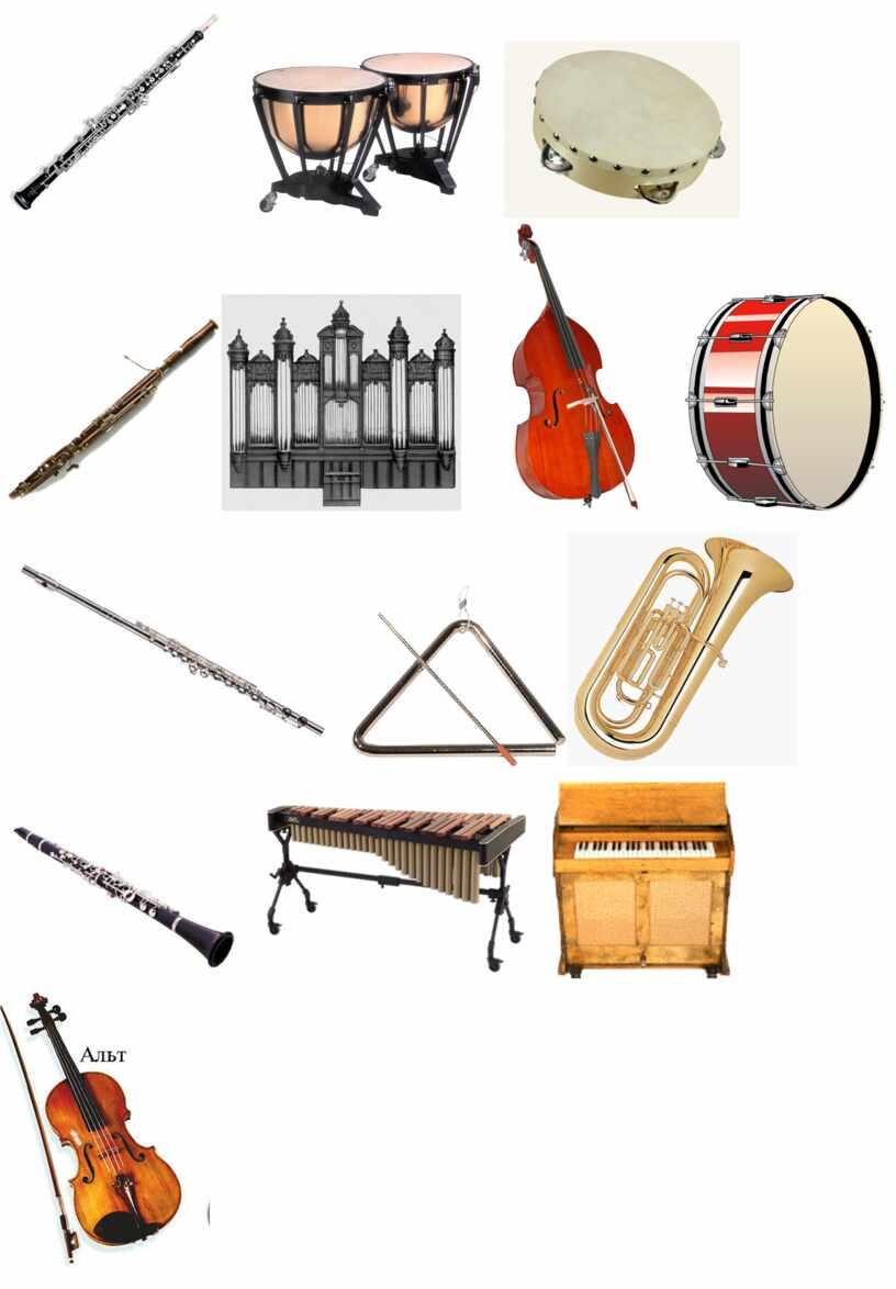 """Конспект открытого урока """"Мир симфонического оркестра"""""""