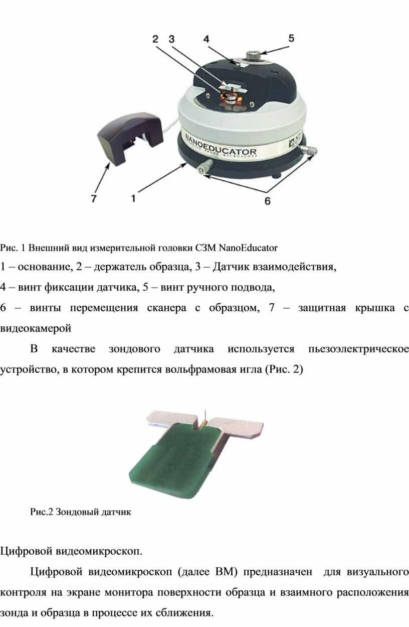 Рис. 1 Внешний вид измерительной головки