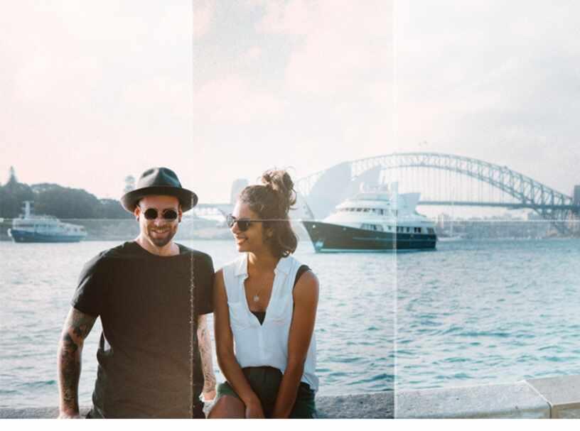 Эффект сгиба на фотографии в Фотошоп