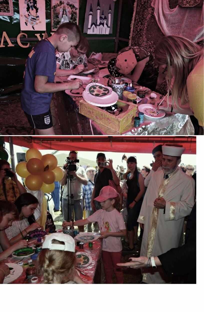 Фото отчет  мастер класса с праздника ХЫДЫРЛЕЗ