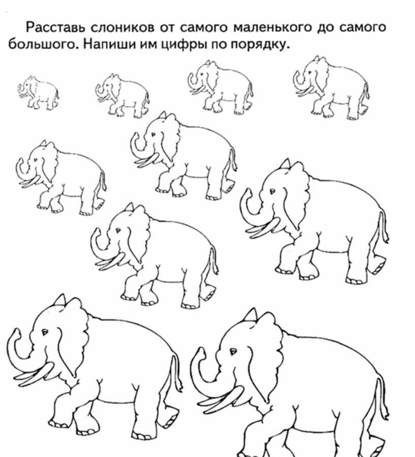 Расставь слонов