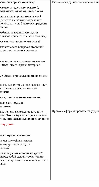 Слайд 2 (записаны прилагательные)