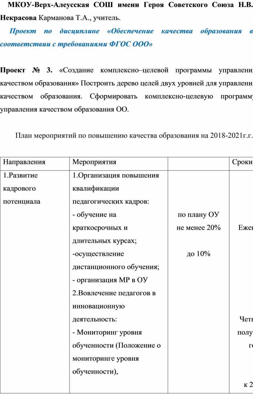 МКОУ-Верх-Алеусская СОШ имени Героя