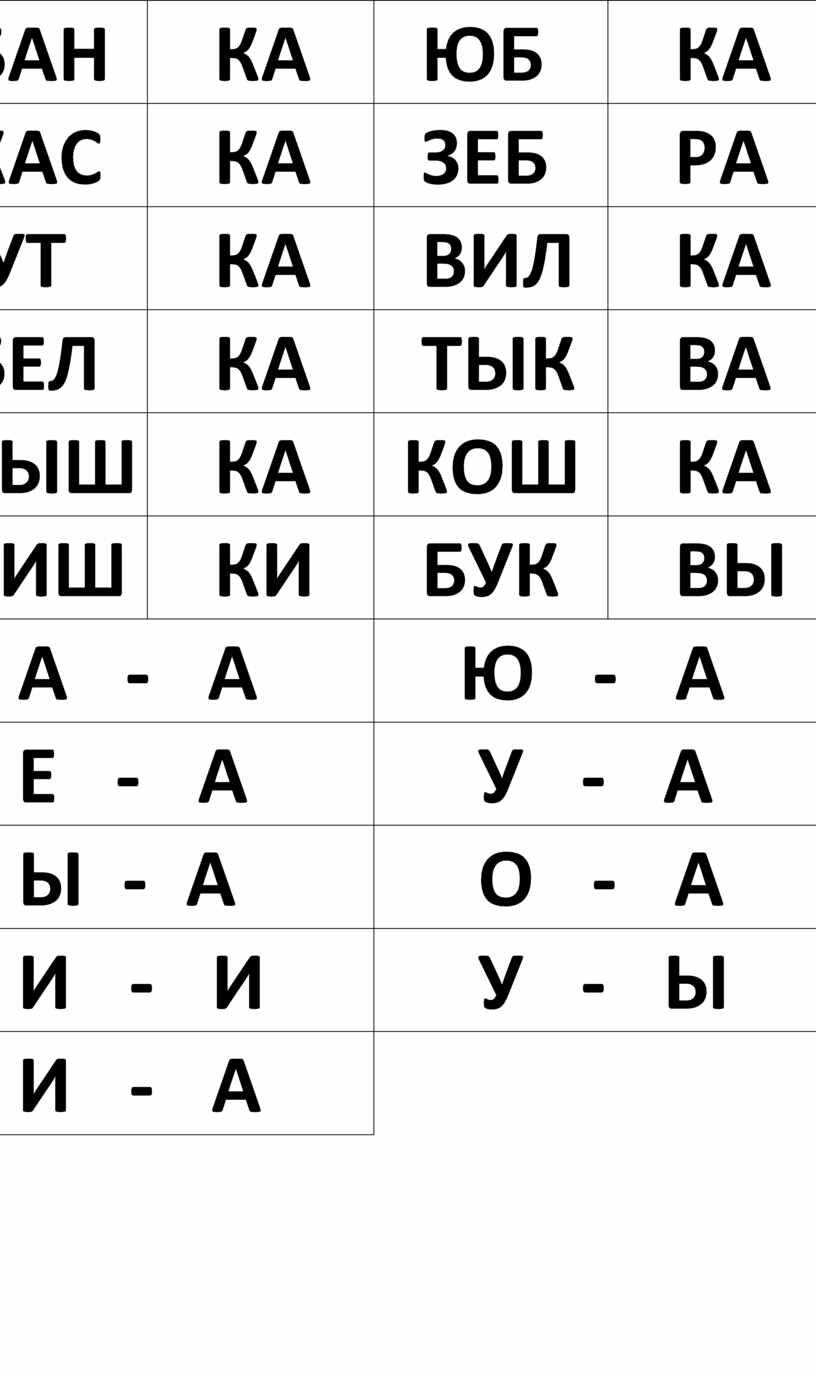БАН КА ЮБ