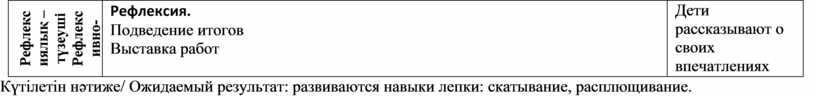 Рефлексиялық –түзеуші Рефлексивно-коррегирующий