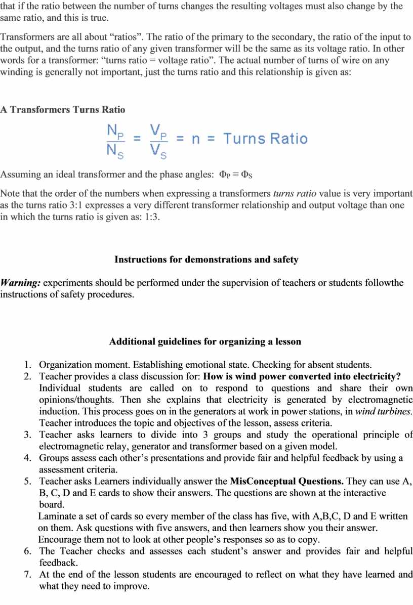 """Transformers are all about """"ratios"""""""