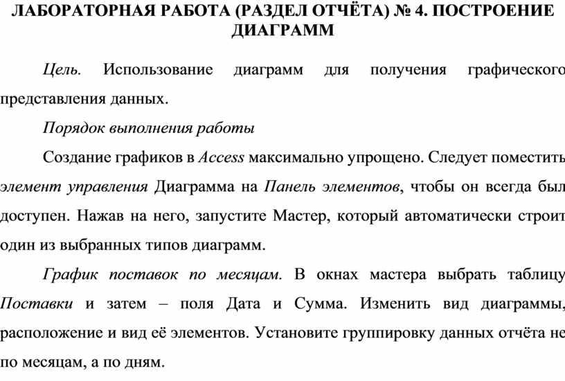 Лабораторная работа (раздел отчёта) № 4