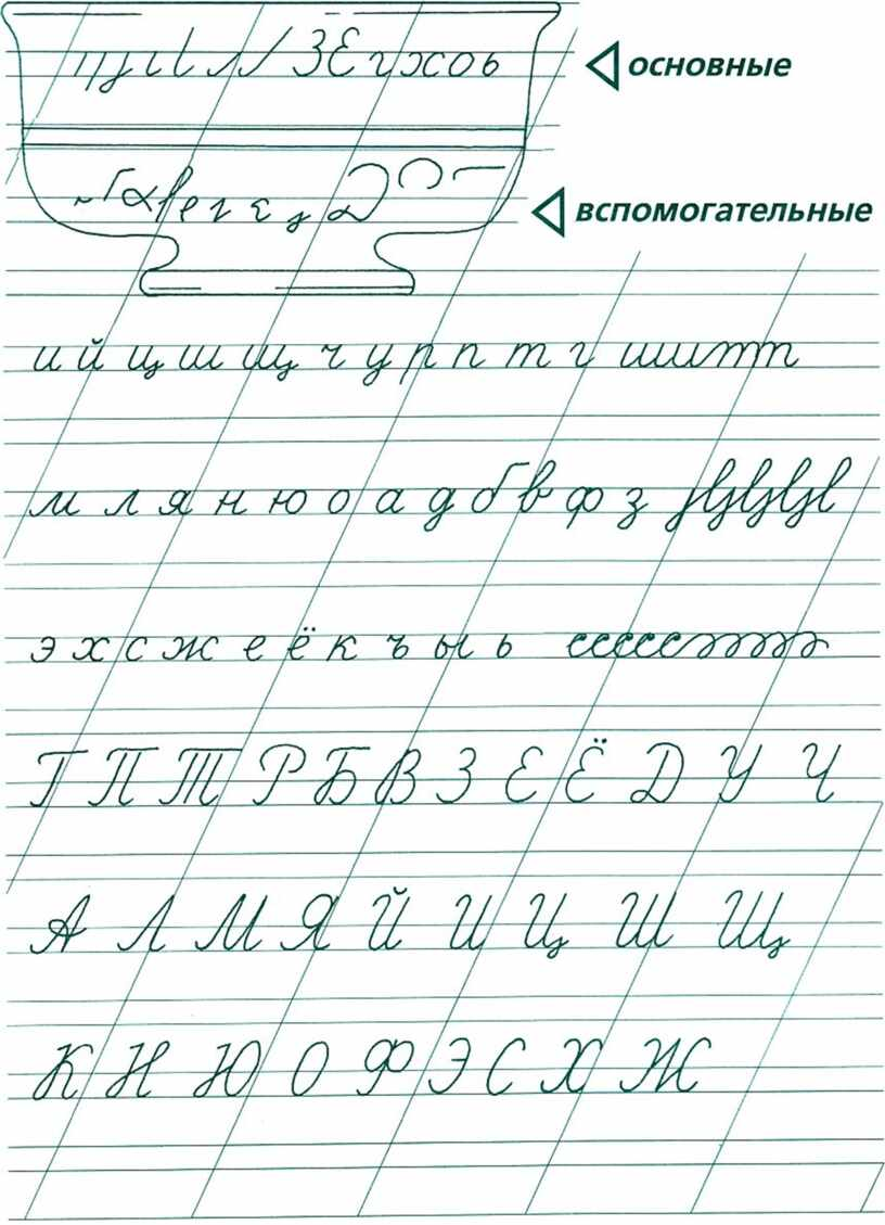 Тетрадь по каллиграфии