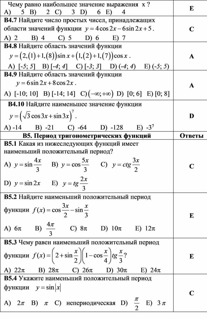 Чему равно наибольшее значение выражения x ?