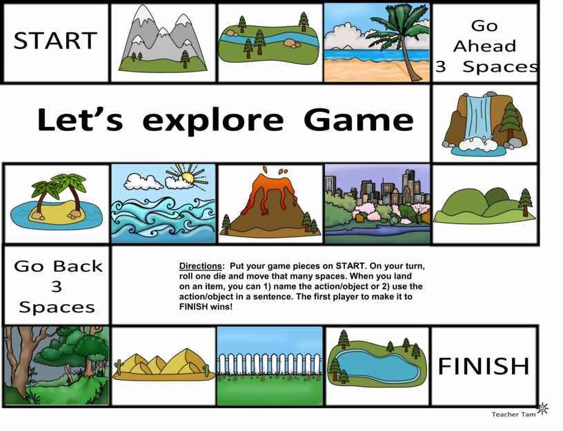 Language board game