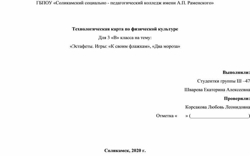 ГБПОУ «Соликамский социально - педагогический колледж имени