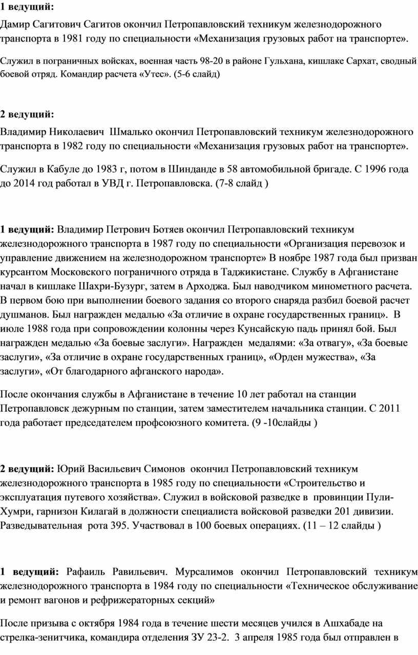 Дамир Сагитович Сагитов окончил