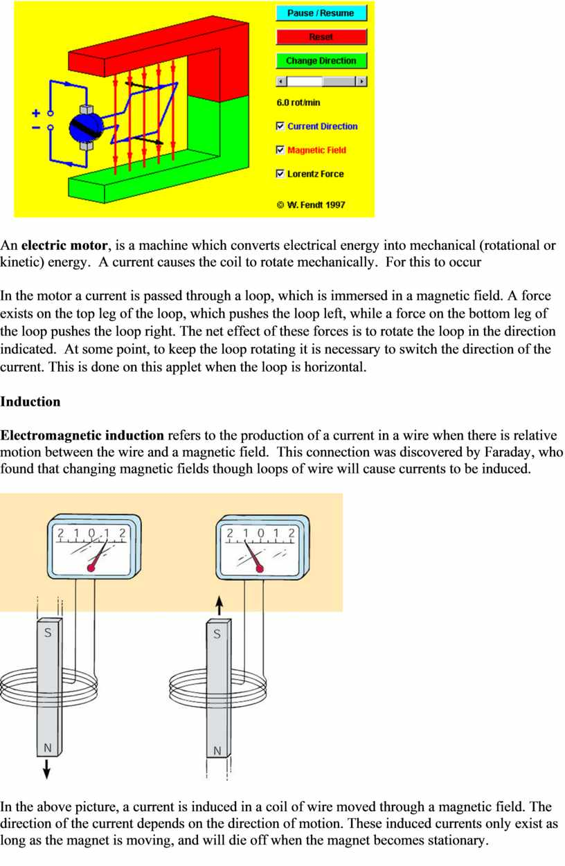 An electric motor , is a machine which converts electrical energy into mechanical (rotational or kinetic) energy