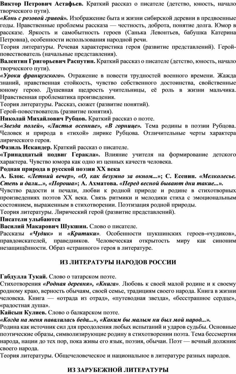 Виктор Петрович Астафьев. Краткий рассказ о писателе (детство, юность, начало творческого пути)