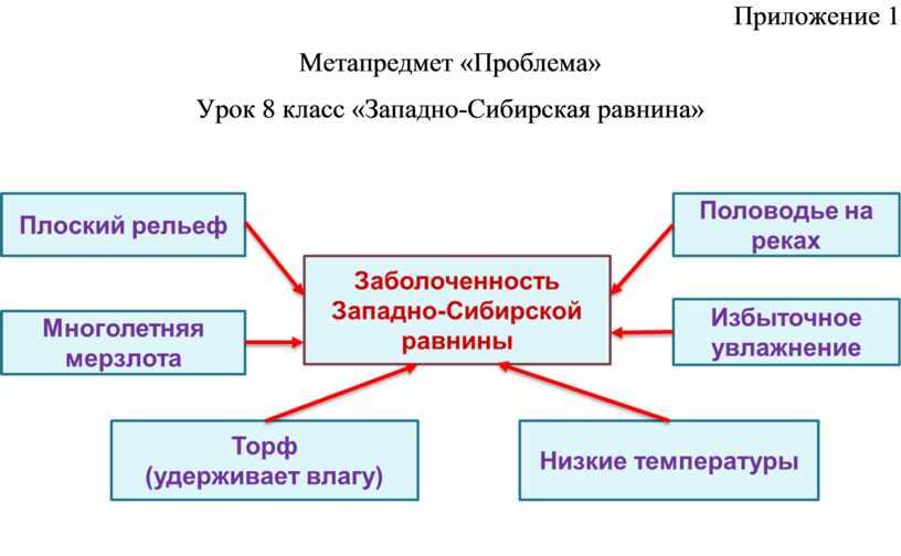 Приложение 1 Метапредмет «Проблема»