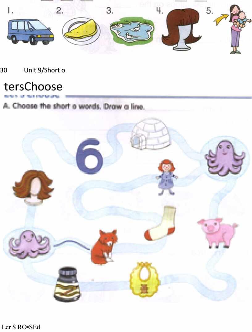 Unit 9/Short o tersChoose