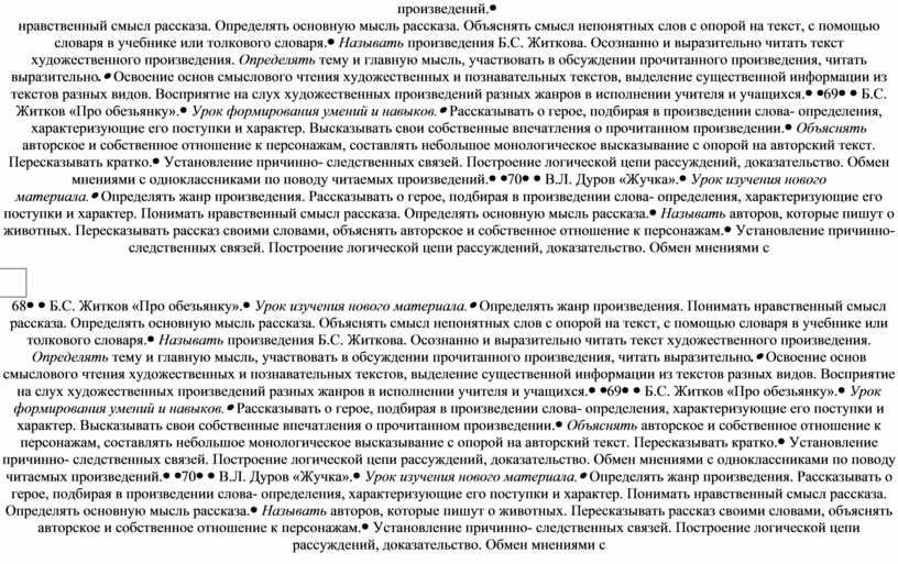 Б.С. Житков «Про обезьянку».