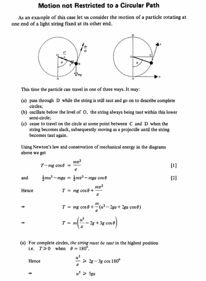 Сборник материалов для подготовки к экзамену по Further Mechanics (Cambridge International Examinations (CIE) , syllabus number 9231)