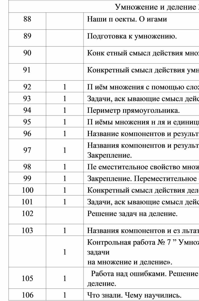 Умножение и деление 39ч . 88
