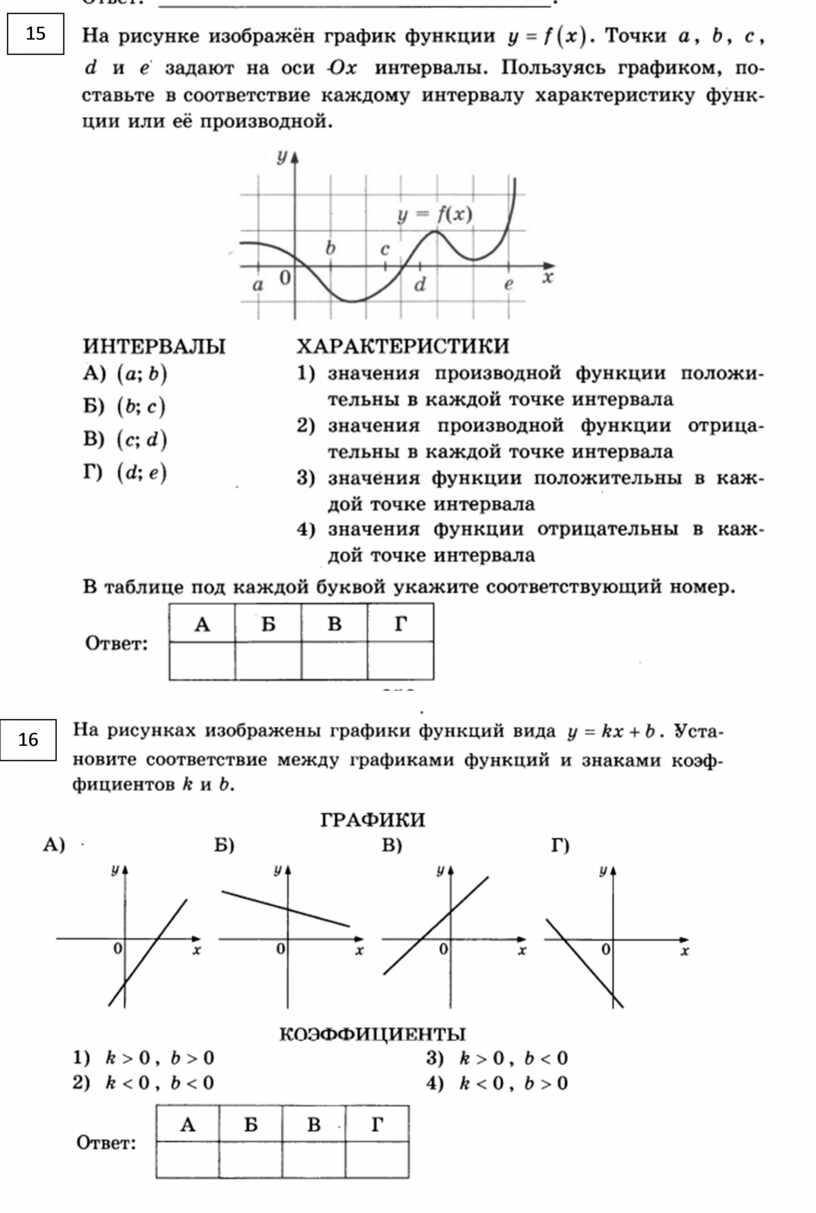 Подготовка к ЕГЭ (базовый уровень) прототипы заданий 14 2020 год