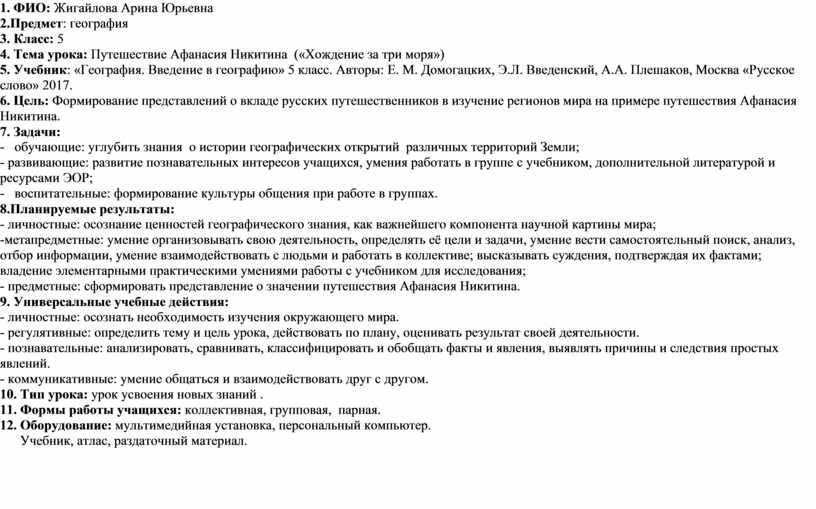 ФИО: Жигайлова Арина Юрьевна 2